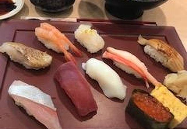 金沢の寿司、うまいもん