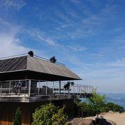 瀬戸内海の景色が綺麗に見られる弥山展望休憩所!!