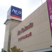 サッポロビール工場跡地にできた大型ショッピングセンター