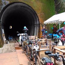 レールマウンテンバイク ガッタンゴー (旧奥飛騨温泉口駅)