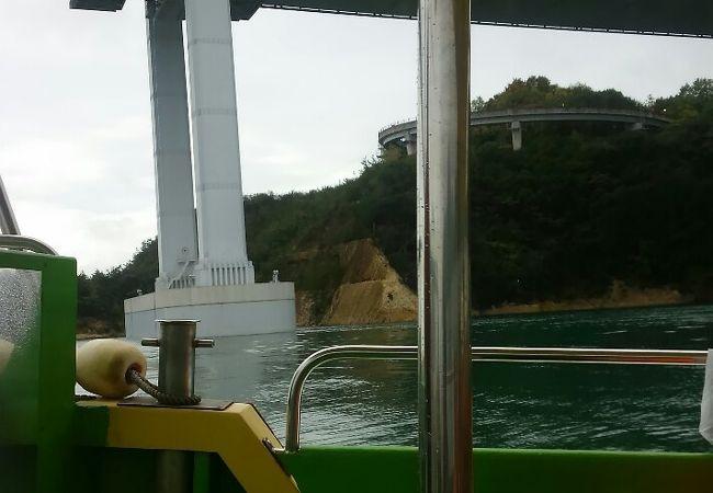 急流観潮船