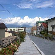 船魂神社に通じる坂
