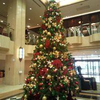 ロビーにはクリスマスツリーが飾られていました。