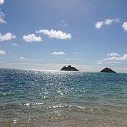 景色がとても綺麗なビーチ
