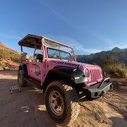 ピンク ジープ ツアー