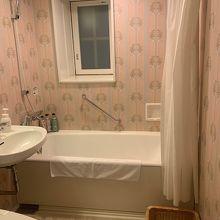 バスルームがピンク!