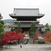 広大な敷地を持つ寺です