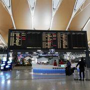 羽田からLCCピーチで 上海浦東国際空港へ