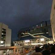 久しぶりの京セラ