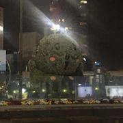 浜松駅前の広場