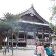 厳島神社のすぐ近く