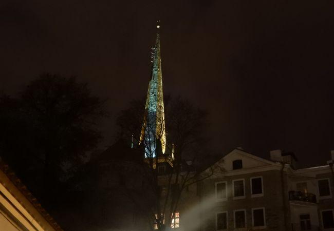 聖オレフ教会の塔