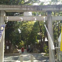 鳩森八幡神