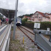 終点の駅がフュッセンです。