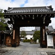 門跡とは、皇族方が仏門に入られた寺院です
