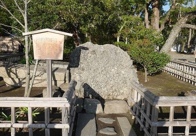 さざれ石 (鶴岡八幡宮)