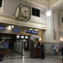 バンクーバーパシフィック駅