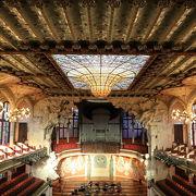 今も現役のステキなカタルーニャ音楽堂