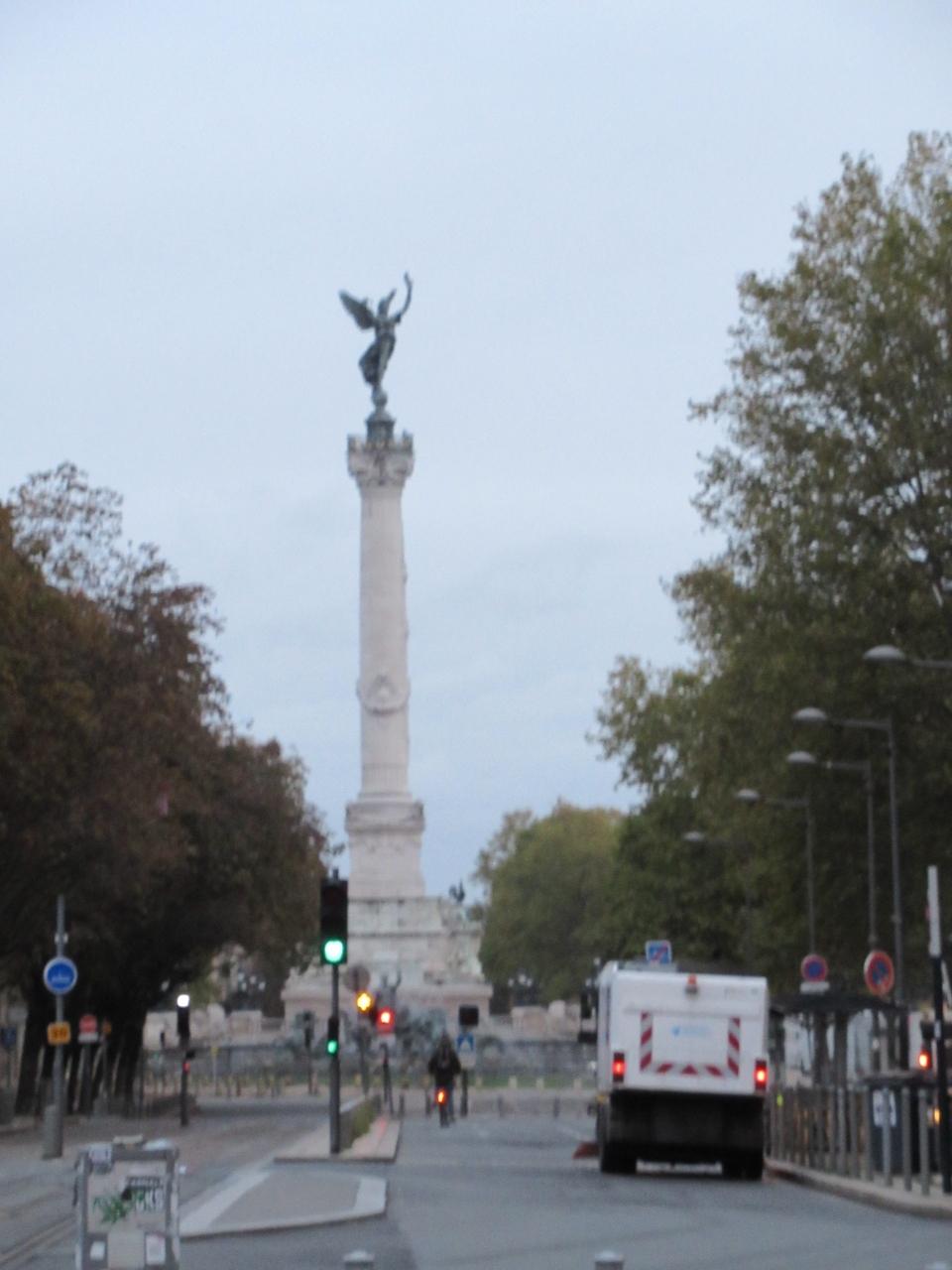 ジロンドの記念碑。