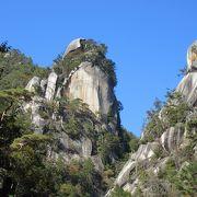 昇仙峡の見どころのひとつ