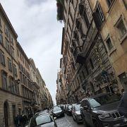 ローマのブランド通り