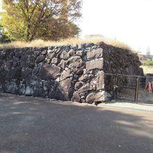 甲府城 坂下門跡