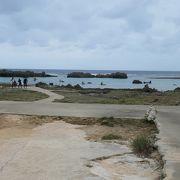 波が静かで海水透明度の高い博愛わいわいビーチ