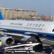 中国南方航空の飛行機
