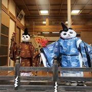 パンダがいる神社