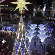 令和元年のJR博多シティのイルミネーションは新シンボルタワーがお目見え!!
