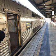 シドニーセントラルからカトゥーンバ駅へ