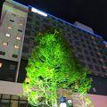 駅前の新しいホテル(ラジェント)