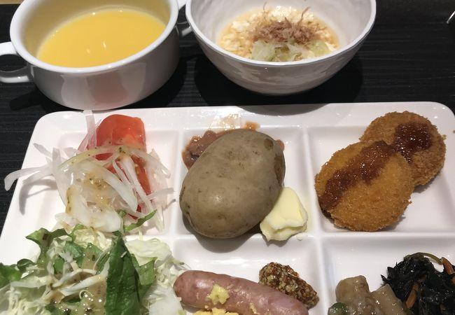函館国際ホテルで朝食バイキング