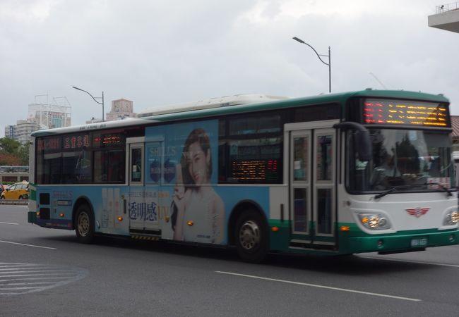 中距離移動に便利なバス路線