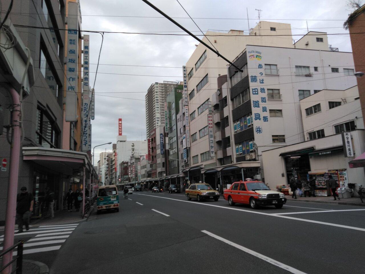 TX浅草駅かメトロ銀座線田原町駅から歩いて行きます。