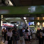 BTSの拠点の駅