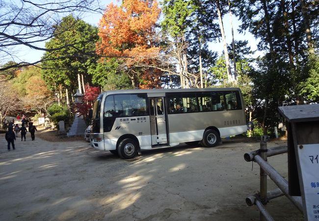 書写山圓教寺 山上マイクロバス 神姫バス