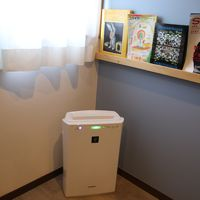 室内の空気清浄機