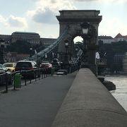 ブダペストのシンボル的な橋