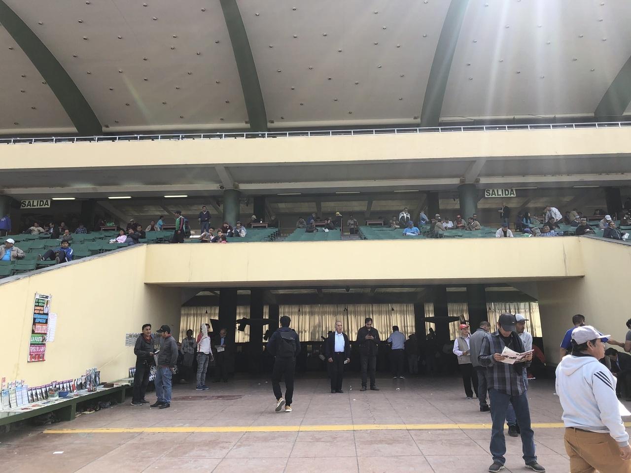 写真:モンテリコ競馬場
