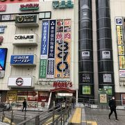 駅前ショッピングモール