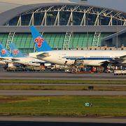 中国南部の大きな空港
