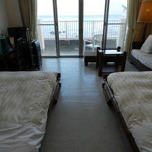 ベッドからも海が見えます!