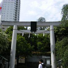 乃木神社鳥居