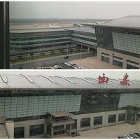 空港目の前。飛行機好きには良いかも。