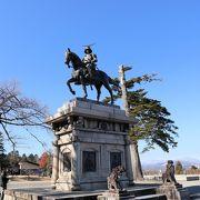 伊達政宗の気持ちになって仙台市街を一望できます