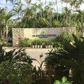 黒島を眺められる リゾートホテルです。