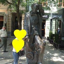 クリスチャン アンデルセンの像