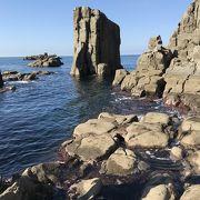 初冬の割に穏やかな日和だったので、海辺まで下りてみました