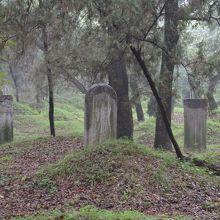 孔林の孔子一族の墓